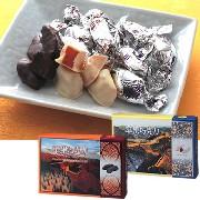 中国 リンゴチョコレート(ミルクチョコ、ホワイトチョコ) 6箱セット:食料品,中国商品市場,中国貿易,中国企業情報