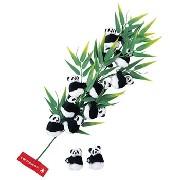 クリップドールパンダ 12個セット:アクセサリー品,中国商品市場,中国貿易,中国企業情報
