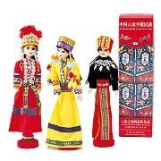 雲南省 少数民族人形 1体:ホビー.美術品,中国商品市場,中国貿易,中国企業情報