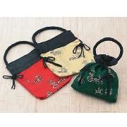 チャイナ巾着袋 3枚セット:フアッション,中国商品市場,中国貿易,中国企業情報