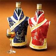 チャイナ服ボトルカバー 2枚セット:アクセサリー品,中国商品市場,中国貿易,中国企業情報
