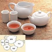 台湾 工夫(クンフー)茶器セット 白磁:家庭用品,中国商品市場,中国貿易,中国企業情報