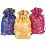 巾着中国茶3種セット:食料品,中国商品市場,中国貿易,中国企業情報