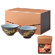 中国官貴金龍・鳳凰茶碗セット:家庭用品,中国商品市場,中国貿易,中国企業情報