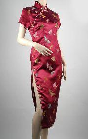 チャイナドレス 刺繍チャイナ服ロング:フアッション,中国商品市場,中国貿易,中国企業情報