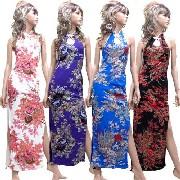 ホルターネックロングチャイナドレス:フアッション,中国商品市場,中国貿易,中国企業情報
