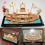 カラー軟木画 龍船:インテリア,中国商品市場,中国貿易,中国企業情報