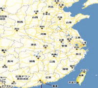中国常州地図