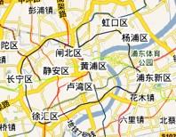 上海ホテル地図